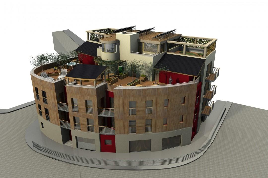 Stroud planning proposal – model