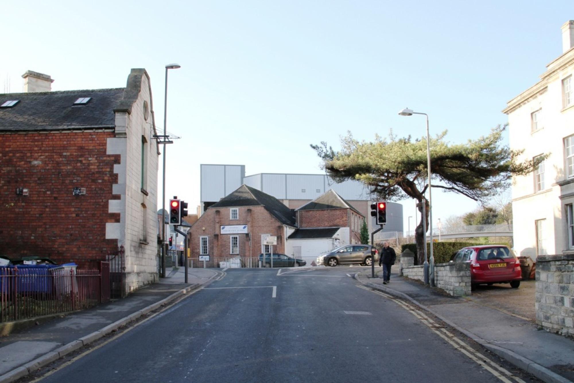 Stroud planning proposal – original site photograph
