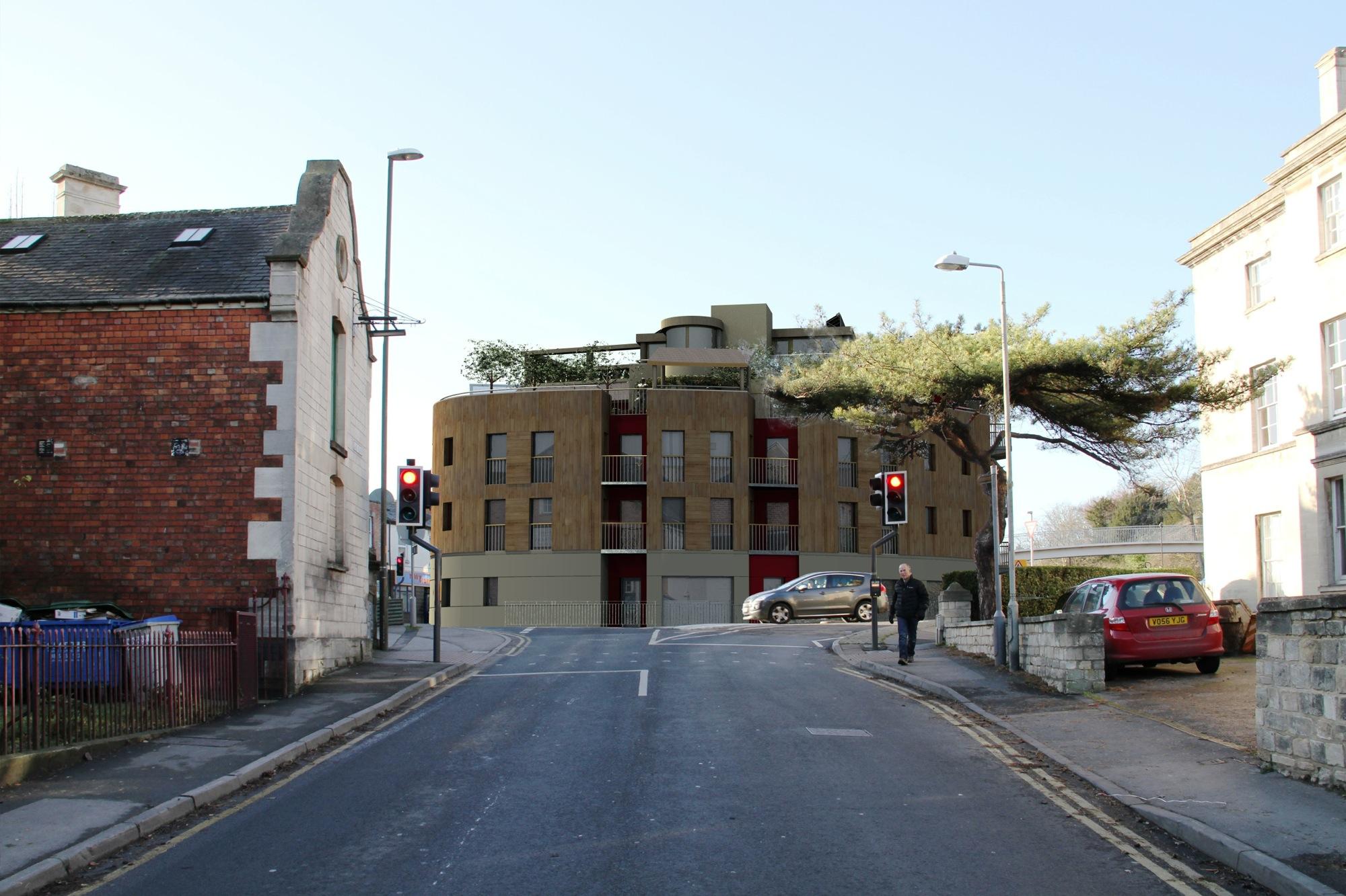Stroud planning proposal – photomontage