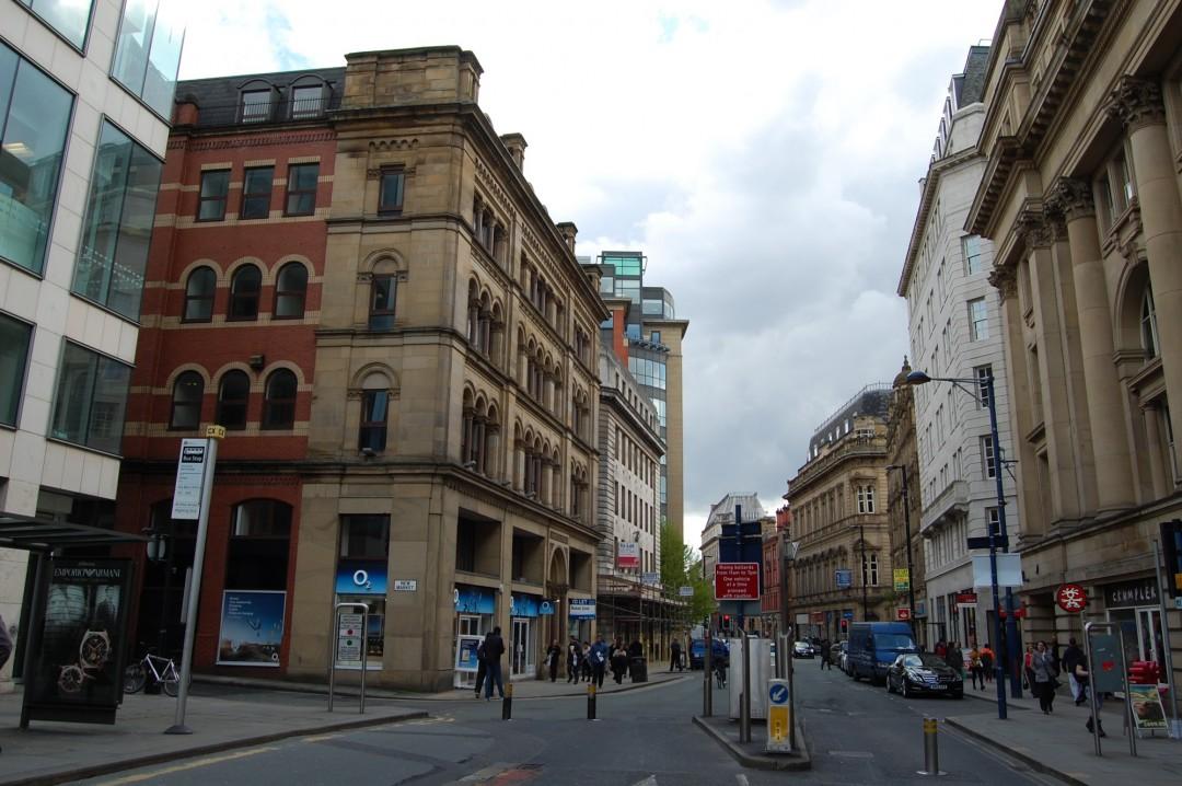 Cross Street, Manchester – site photograph