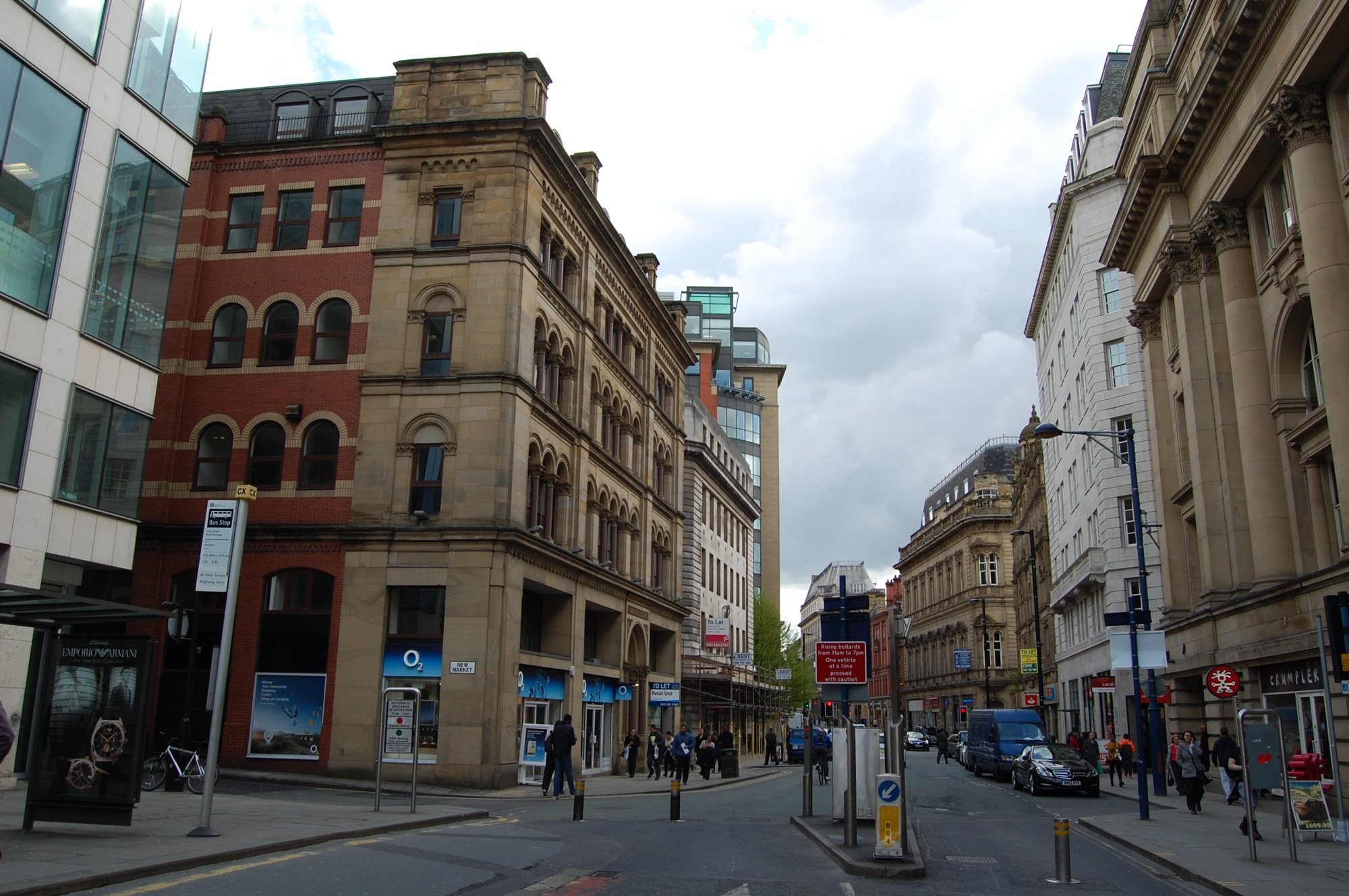 Cross Street, Manchester – site photograph