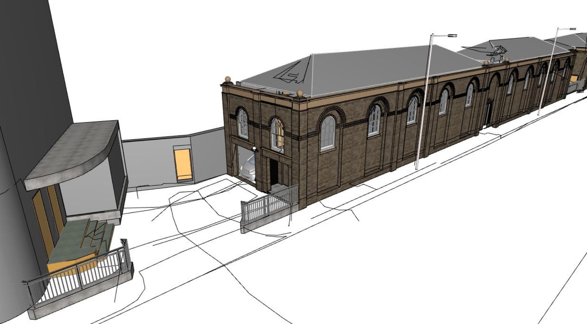 Pelham Street, London – measured builing survey – model