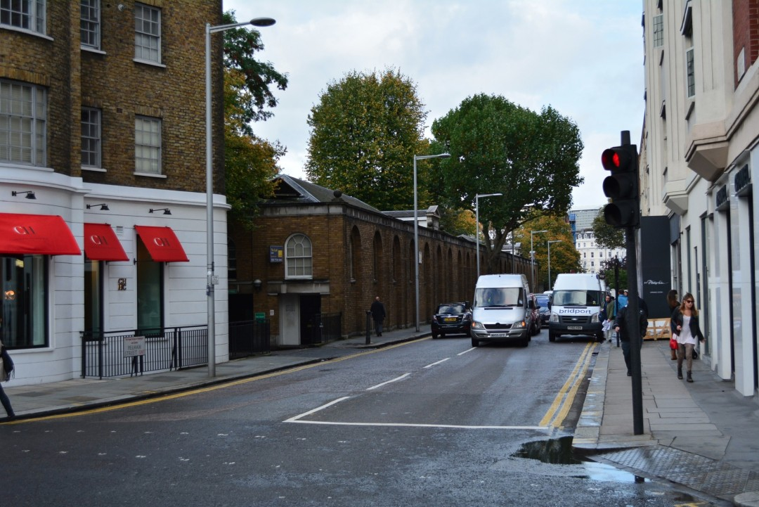 Pelham Street, London – measured builing survey – site photo