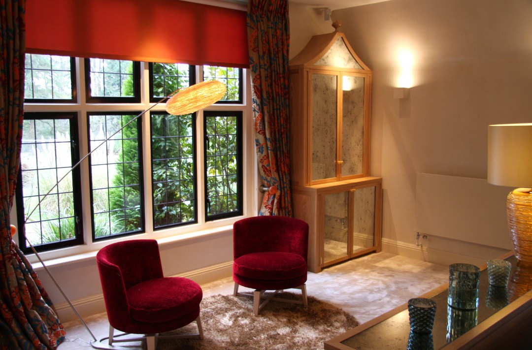 Joinery, furniture and fabrics for country house