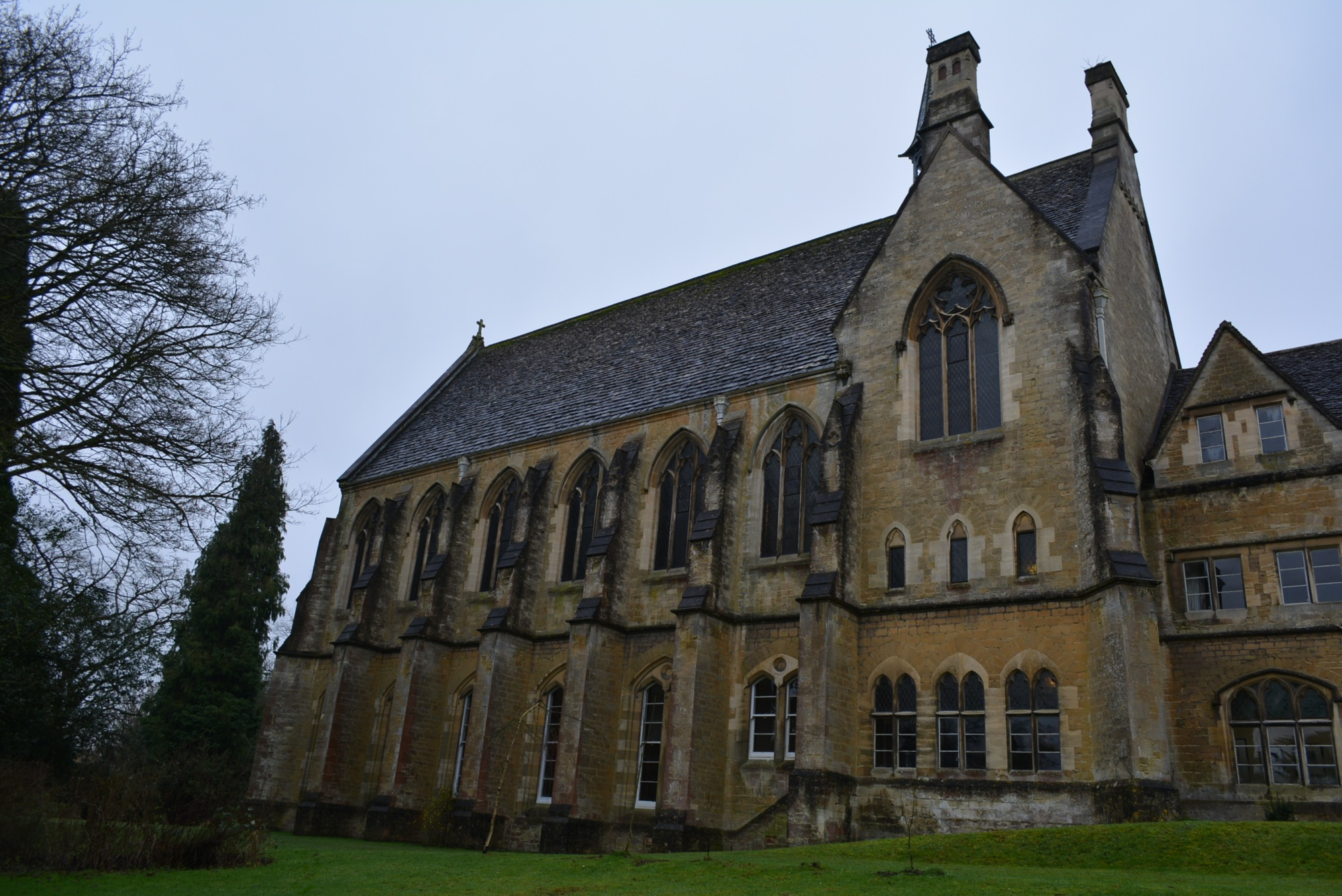 The Convent, Woodchester – measured building survey – site photograph