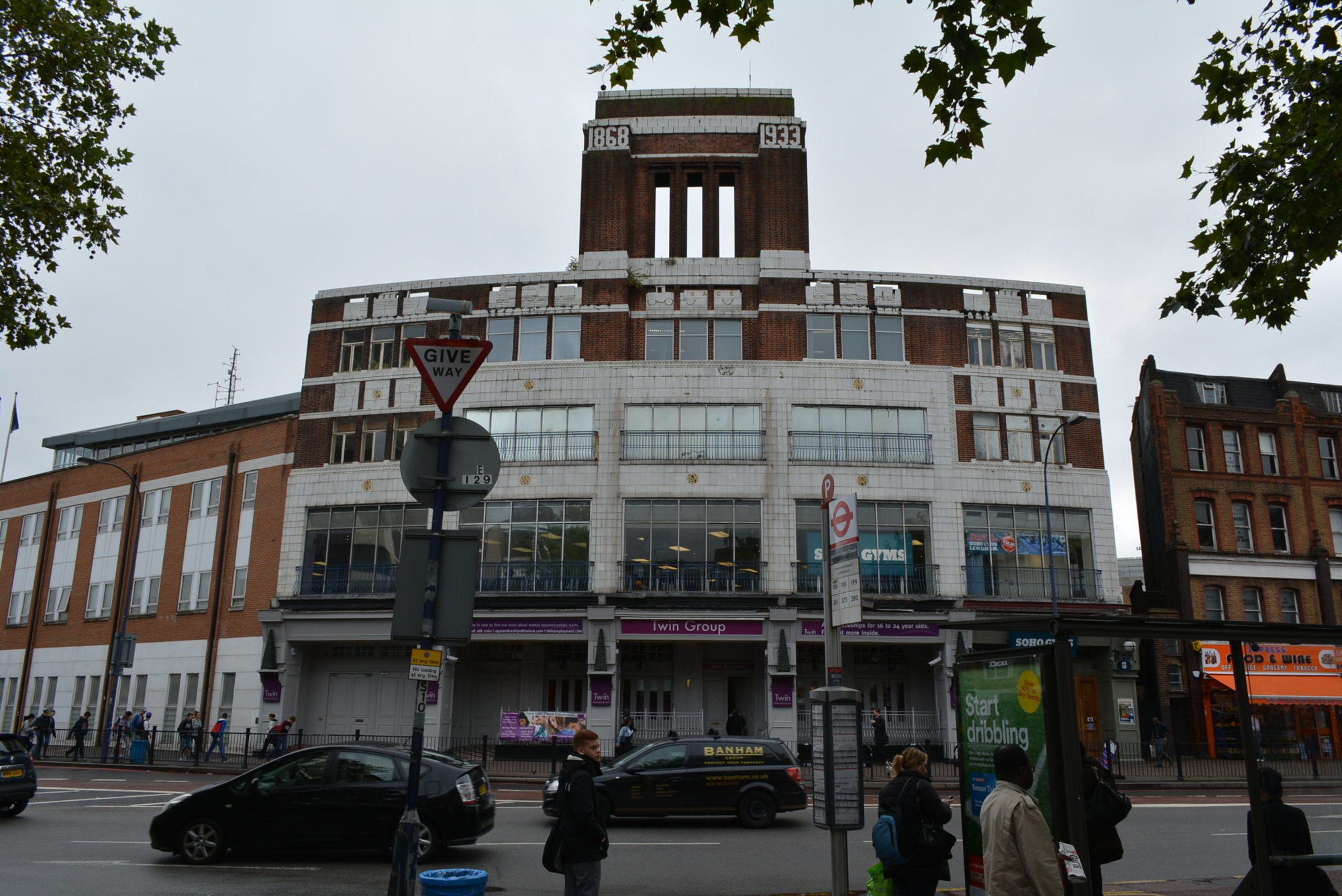 Tower House , Lewisham – measured building survey – site photo