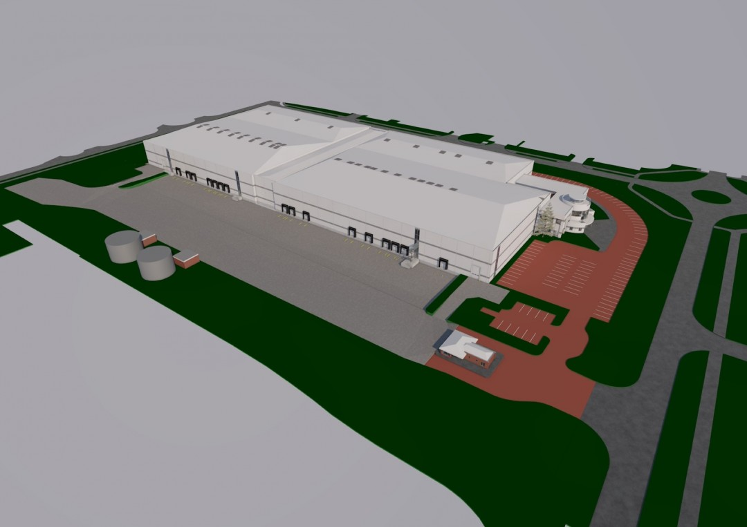 Chippenham Drive, Milton Keynes – lease plans – warehouse model