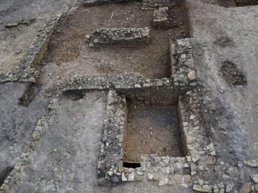 Medieval farm building excavation
