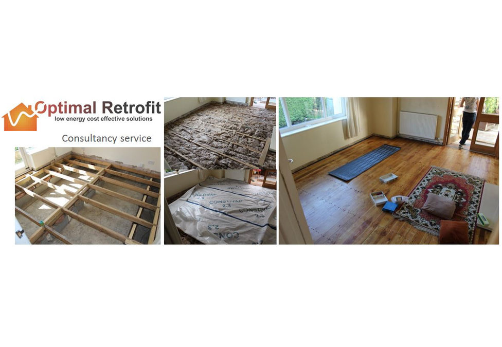 Tim Martel insulated floors