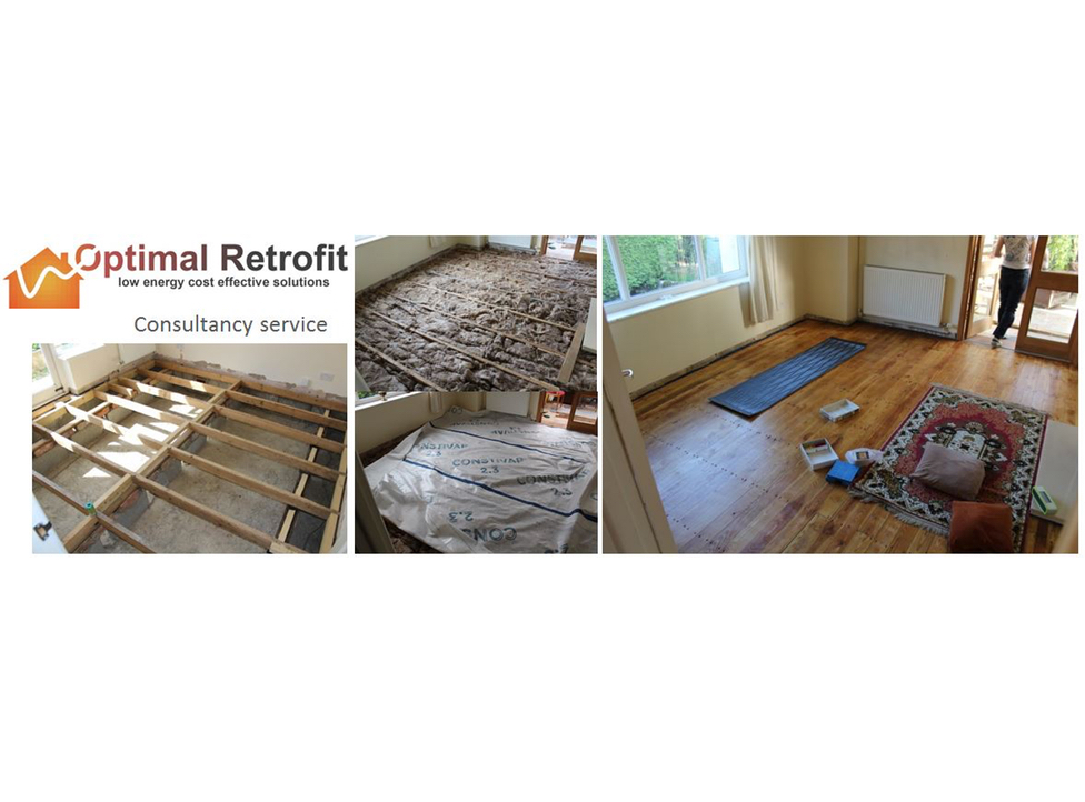 Tim Martel insulated floors