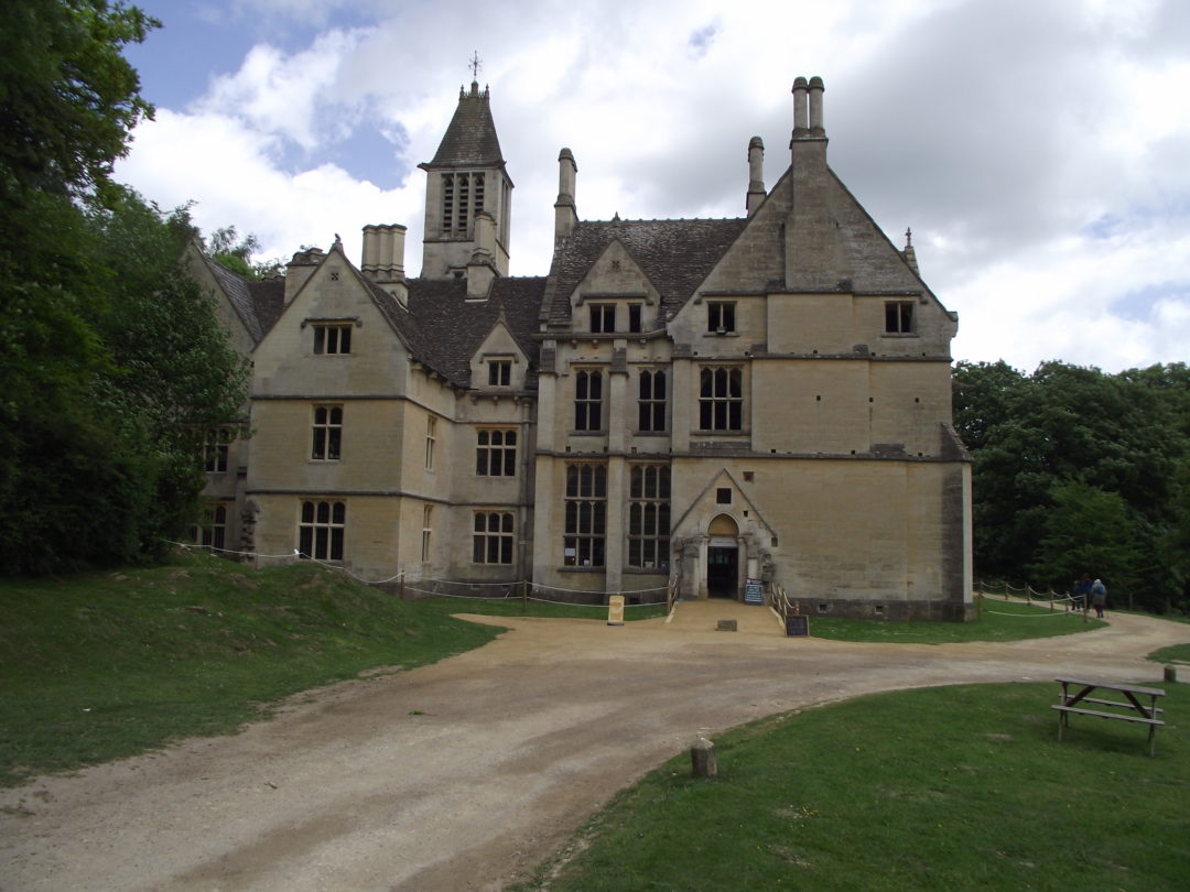 Chris Gill – Woodchester Mansion entrance